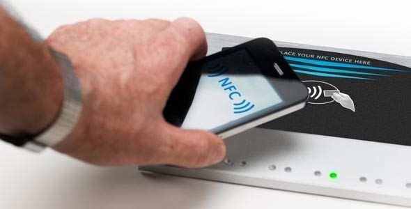 NFC-marketing with QuickTap
